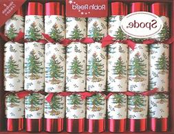 Robin Reed 8 Pc Spode Christmas Crackers 531
