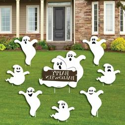 Big Dot Of Happiness Spooky Ghost - Yard Sign And Outdoor La