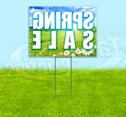 SPRING SALE Yard Sign Corrugated Plastic Bandit Lawn Decorat