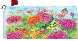 SPRING SUMMER FLOWER BOUQUET WELCOMECustom Decor MAILBOX COV