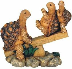 George S. Chen Imports SS-G-61058, 3 Turtles On Seesaw Garde