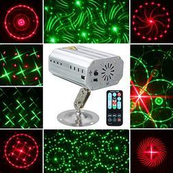Jeteven Stage Laser Lights 12 Patterns LED Party Projector S