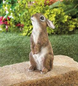 standing baby Bunny Rabbit outdoor yard garden lawn art deco
