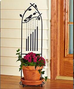 Standing Wind Chime Outdoor Deco Garden Patio Deck Backyard