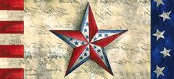 Evergreen Flag Patriotic Star Decorative Rubber and Polyeste