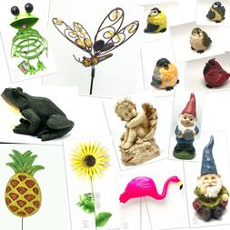 Statues Lawn Ornament Stake Decor Yard Garden Outdoor Resin