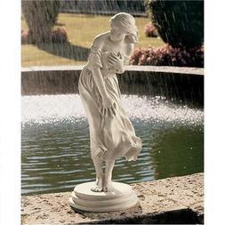 Statues of Women Woman Female Girl Lady Lawn Garden Yard Art