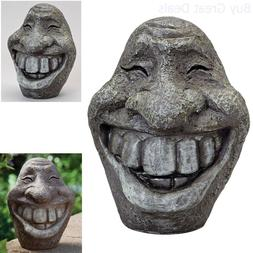 Stone Statue Resin Figurine Home Yard Lawn Patio Garden Outd