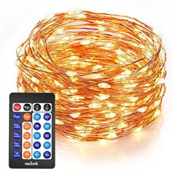 Homestarry Outdoor String Lights,Dimmable LED Starry String