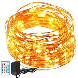 GDEALER String Lights Copper Wire 50ft 150LED Starry Fairy S