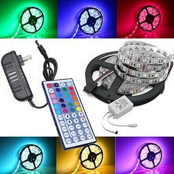 Magic BEAM 5-Meter 16.4 Ft LED Strip Lighting Full Kit 5050