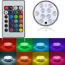 "Kitosun Submersible LED Lights 2.8"" 3aaa Battery RGB Multico"