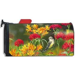 MailWraps Summer Flowers Mailbox Cover #05980