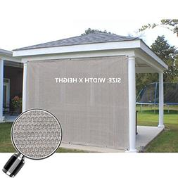 Alion Home Sun Shade Privacy Panel with Grommets on 2 Sides