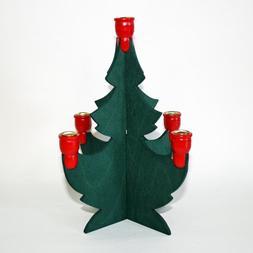 "Swedish Christmas Tree Candleholder - 8"""