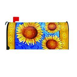 Toland Home Garden Sweet Sunflowers Yellow Summer Flower Mag