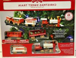 Holiday Time Sweet Tree Train Christmas Battery Operated
