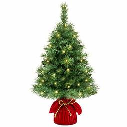 Types Of Artificial Christmas Trees.Pre Lit White Tree Yarddecor