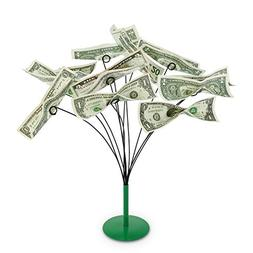 Kovot Tabletop Money Tree - Bendable Branches To Hold Money