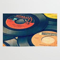 Society6 Take Those Old Records Off The Shelf Rug 3' x 5'