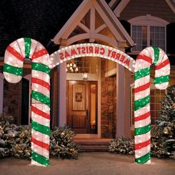 7 Ft Tall 3D Archway Magical Unique Large Candy Cane Arch Wa