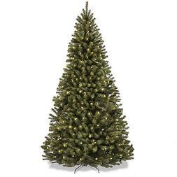 7.5 Feet Tall Prelit Christmas Tree Premium Spruce with 550