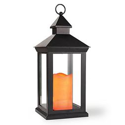 """Bright Zeal 14"""" TALL Vintage Decorative Lantern with LED Can"""
