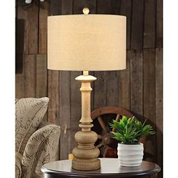 Creek Classics Tan Table Lamp