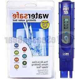 TDS-EZ + WS-425B, HM Digital ppm Tester + Watersafe City Hom