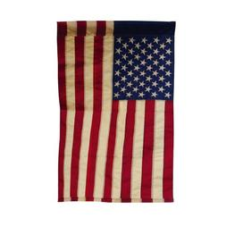 Tea Stained Patriotic American Flag