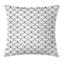 Teen Room Decor Throw Pillow Cushion Cover by Ambesonne, Reb