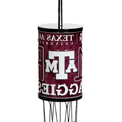 Texas A & M Aggie Garden Wind Chime with Bonus E-book, a Col