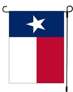Texas State Seal Emblem Garden Banner Flag 11x14 Lone Star Y