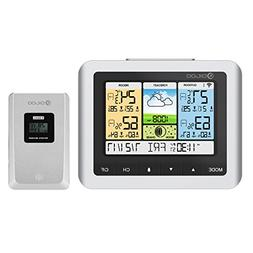 DIGOO TH8888 In&Outdoor Thermometer Color Weather Station wi