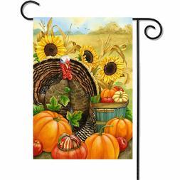 Thanksgiving Rectangle Polyester Porch Home <font><b>Decorat