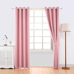YOJA Thermal Insulated Window Treatment Blackout Curtains Dr