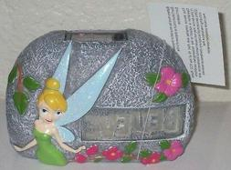 """Tinkerbell BELIEVE Solar Garden 5"""" Stone NEW With Tag Yard D"""