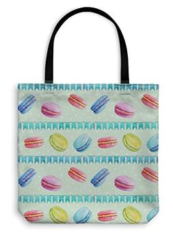 Gear New Tote Bag, Shoulder Tote, Hand Bag, Pattern Watercol