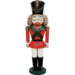 Toy Soldier Nutcracker Life Size Resin Christmas Statue Prop