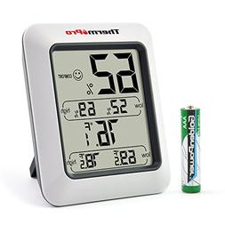 ThermoPro TP50 Digital Hygrometer Indoor Thermometer Humidit