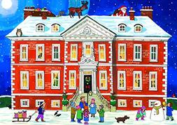 Alison Gardiner 'Country House Christmas' Large Traditional
