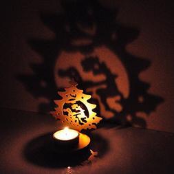 Hashcart Traditional Tea Light Candle Holder/Metal Candle Li