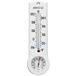Lacrosse La Crosse 204-109 9 Inch Traditional Thermometer/Hy