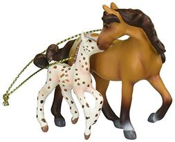"Enesco Trail of Painted Ponies ""A Star is Born"" Appaloos"