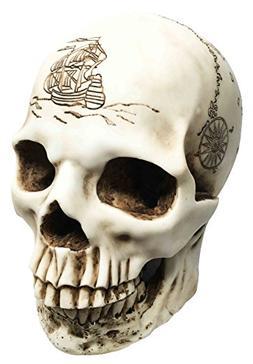 Treasure Map Uncharted Lost Treasure Island Skull Cartograph