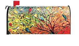 Toland Home Garden Tree Birds Colorful Summer Fall Bird Magn
