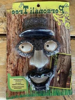 Tree Face Eyes Nose Mouth Outdoor Tree Garden Yard Decor