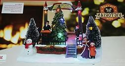 8 Inch LED Tree Lighting Centerpiece Christmas Village Table