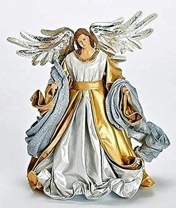 "Christmas Tree Toppers - Seraphim Angel Tree Topper - 10.5""H"