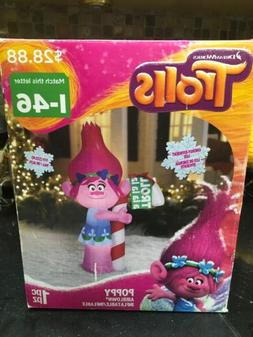 Trolls Airblown Inflatable Poppy with Candy Cane 5ft Tall Pr